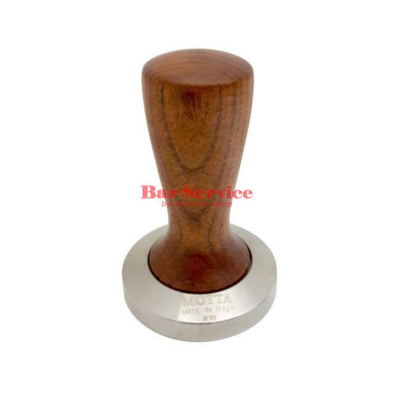 Темпер Мотта SLIM 58 мм. (плоский) рукоятка из дерева в Калининграде