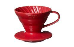 Hario VDC-02R. Воронка керамическая красная. 1-4 чашки в Калининграде bottom