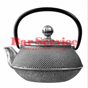Чайник с ситечком; чугун; 650 мл; D=8.7,H=9.4,L=14.5; черный в Калининграде